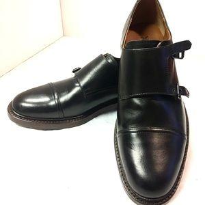 FRYE Jones Double Monk Strap Loafer Size 9 D, NIB